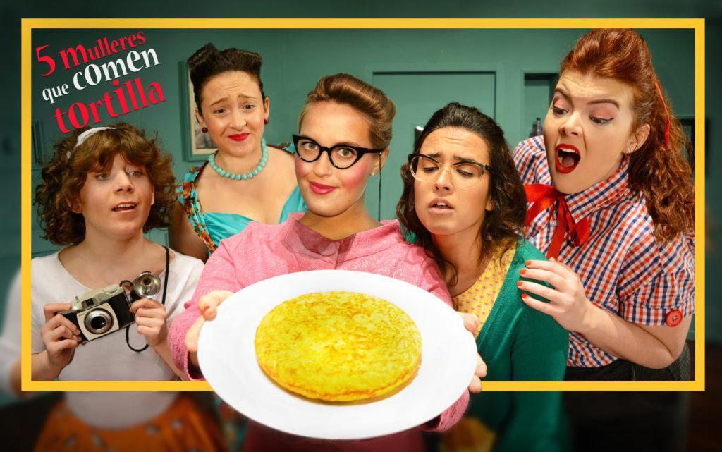 Cinco Mulleres Que Comen Tortilla | Señora Supina