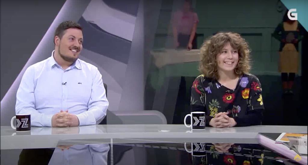 entrevista a Nola drake e Javier Lojo de Señora Supina