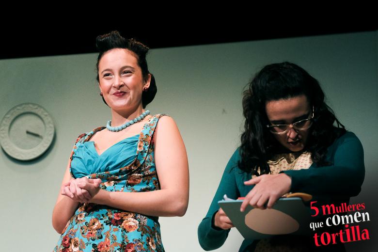 Alba Outeda é Wren Robin en Cinco mulleres que comen tortilla
