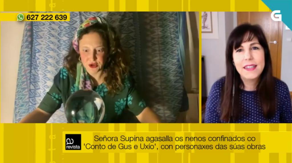 María Solar fala en A Revista da compañía Señora Supina